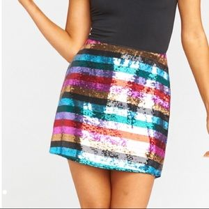 NWT Show Me Your Mumu Cade Mini Skirt